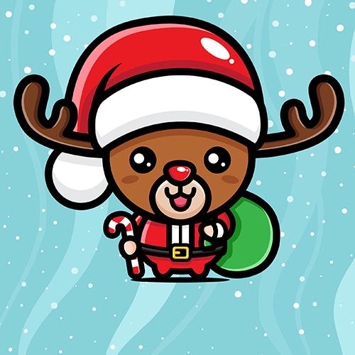 Amy Grant - Santa's reindeer ride